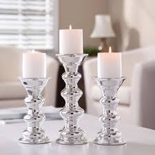 Small Picture Better Homes And Gardens Ceramic Metallic Pillar Candle Holders