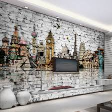 liberty bedroom wall mural: custom d mural wallpaper roll classic european architecture eiffel tower big ben statue of
