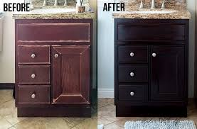 how to use gel stain update cabinets