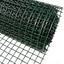 garden mesh. Simple Mesh Plastic Garden Fencing 1m X 10m Green 20mm Holes Clematis Netting Mesh   Ideal For Plant Inside Amazon UK