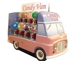 Bulk Candy Vending Machine Delectable Jolly Roger's Candy Van Kiosk Could Help Drive Bulk Vending Sales