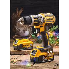 dewalt 18v tools. dewalt 18v xr brushless combi drill with 2 li-ion batteries dewalt 18v tools