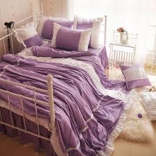 free luxury 100 cotton elegant style purple