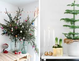 Modest Ideas Small Potted Christmas Trees Holiday Decorating Traditional VS  Contemporary Design Kouboo