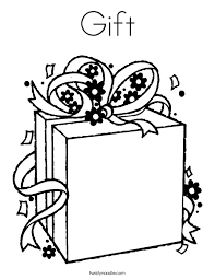 Small Picture Gifts Coloring Pages Coloring Coloring Pages