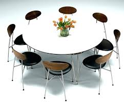 modern dining set for 4 modern round dining set 6 seat kitchen table 6 seat round