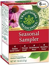 Traditional Medicinals Seasonal Herb Tea Sampler ... - Amazon.com