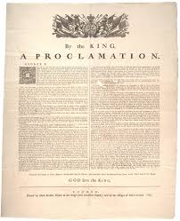 proclamation of the gilder lehrman institute of king george iii proclamation of 1763 1763 gilder lehrman collection
