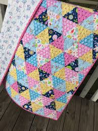 Easy Baby quilt kits | SewMod & SewMod equilateral quilt kit Adamdwight.com