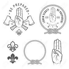Scout Design Scout Symbols And Design Elements