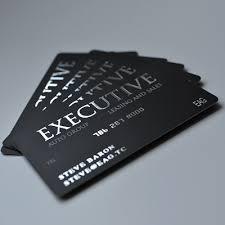 Foil Stamped Business Cards With Sliver Gold Copper Black Red