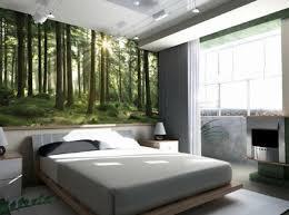 Wald Fototapete Wandgestaltung Schlafzimmer