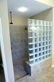 shower find this pin and more on bathroom ideas by afourie0016 glass block with partial