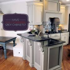 Kitchen: Grey Kitchen Cabinet Ideas With Beautiful Sculpture - Grey Kitchen  Cabinets B And Q