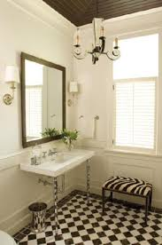 Stylish Truly Masculine Bathroom Decor Ideas Black And White Checkered  Flooring Is A Perfect Way To Add A Creative Touch To A