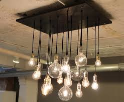 industrial style lighting fixtures. Industrial Style Chandelier With Steel Pipework Metal Frame Large Pertaining To Contemporary Property Chandeliers Ideas Lighting Fixtures
