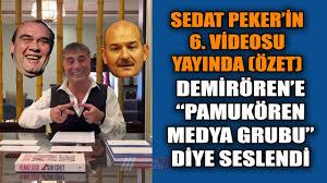 Sedat Peker 6. Bölüm Özeti: Yıldırım Demirören - Süleyman Soylu  Tutuklanacaksınız - YouTube