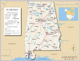reference map of alabama usa  nations online project