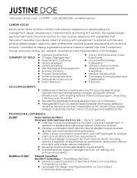 System Architect Resume Examples Internationallawjournaloflondon