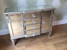 ... New Boxed Venetian Mirrors Mirror Mirrored Extra Long Sideboard Cabinet  Design: best Extra ...