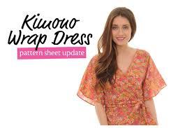 Wrap Around Dress Pattern Cool Inspiration Design