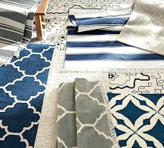 navy outdoor rug. Navy Indoor Outdoor Rug Stripe Recycled Yarn Pottery Barn
