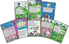 Amazon Com Carson Dellosa Four Blocks Nursery Rhymes Kid