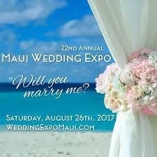 maui wedding association home facebook Wedding Expo Maui image may contain one or more people and text wedding expo maine
