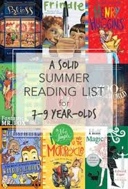a solid summer reading list for 7 9 year olds 15 chapter books 3rd grade