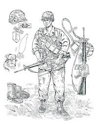 Soldier Coloring Page Army Pages Of Soldiers Lego Winter Color
