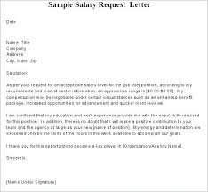 Salary History Cover Letter Example With Requirements Sample Counter
