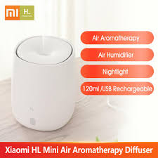 <b>Xiaomi HL</b> Mini Air <b>Aromatherapy</b> Diffuser Portable USB Humidifier ...