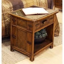 polynesian furniture. 1 Drawer Nightstand, Hospitality Rattan, Polynesian Collection Furniture H