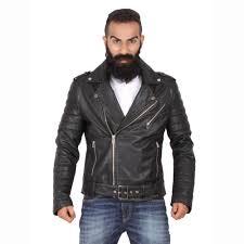 theo ash biker jacket men s black leather jacket men s genuine leather jackets