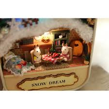 DIY KIT : Box Theater, Snow Dream