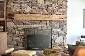 fireplace stones stacked