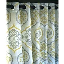 target gray shower curtain target curtains gray yellow and gray curtains target um size of shelf
