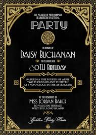 great gatsby party invitations com great gatsby party invitations and get inspired to create your party invitation smart design 11