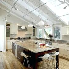 kitchen pretty track lighting vaulted ceiling intended for hanging light on sloped