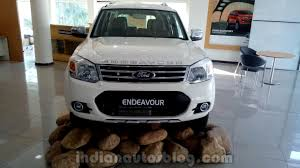 ford new car release 20142014 Ford Endeavour launched in India at 1983 lakh