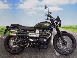 triumph street scrambler for sale finance available and part