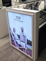 Led Light Box Display Stand Display Lightbox Signs Fabric Face Lightbox PromoSigns LTD 33