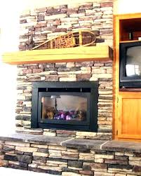 stone veneer fireplace diy fireplace building a fireplace using