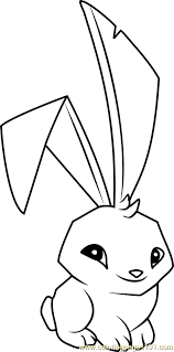 Bunny Animal Jam Coloring Page Free Animal Jam Coloring Pages