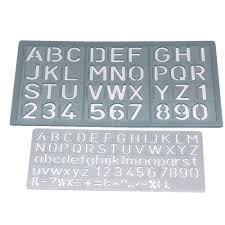 Celco C1020 Letter Stencils 2 Sizes