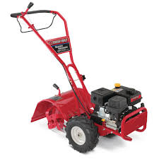 208 cc ohv engine rear tine counter rotating gas tiller with one hand operation and power reverse