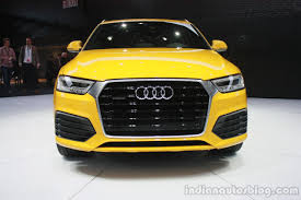 new car launches june 20152015 Audi Q3 facelift to launch in India by June 2015