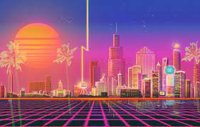Retro Neon City Wallpapers - Top Free ...
