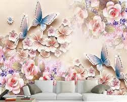 Özel 3d duvar kağıdı hd çiçek kabartma kelebek duvar tv duvar dekorasyon 3d duvar  kağıdı pasoyu de parede kartonpiyer peint beibehang satın almak online /  Resim Malzemeleri Ve Duvar Tedaviler > SatinalmaMaliyet.news