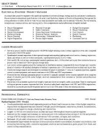 Sample Resume For Electrical Engineer 3 Handplane Goodness